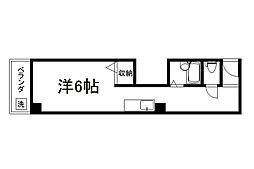 御所西シンワマンション[503号室]の外観