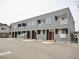滋賀県守山市水保町の賃貸アパートの外観