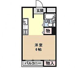 エクセルメゾン瀬田[306号室号室]の間取り