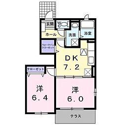 mild SIII[1階]の間取り