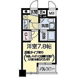 セレニテ甲子園I[0207号室]の間取り