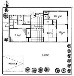 [一戸建] 埼玉県坂戸市清水町 の賃貸【/】の間取り