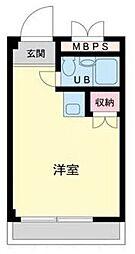 ランドフォレスト東豊田[305号室]の間取り