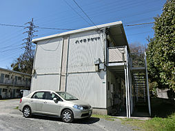 福岡県北九州市小倉北区白萩町の賃貸アパートの外観