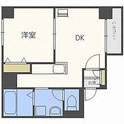マンションビュー[4階]の間取り