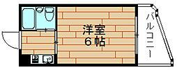LeA・LeA伝法27番館[4階]の間取り
