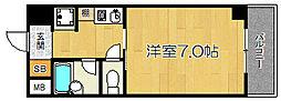 ウィングナンバー1[2階]の間取り
