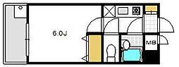 シティマンション大橋I[305号室]の間取り