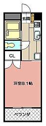 カレッジ花尾[108号室]の間取り