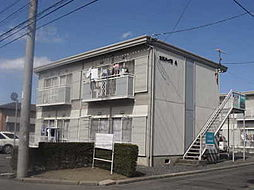 茨城県水戸市笠原町の賃貸アパートの外観
