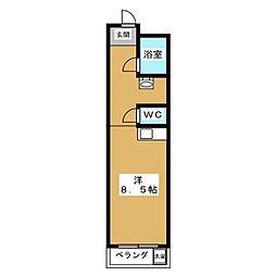 メゾン・MUKAIDE[2階]の間取り
