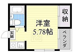 Collection城北1[4階]の間取り