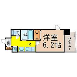 プレサンス桜通アベニュー[7階]の間取り
