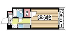ドゥエルミユキ[202号室]の間取り