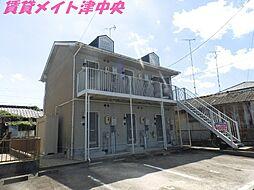 三重県津市愛宕町の賃貸アパートの外観