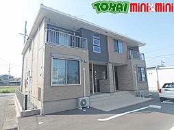 三重県松阪市大黒田町字石川の賃貸アパートの外観