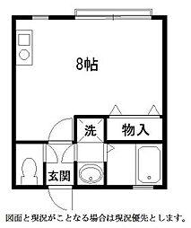 シャトー蒲田10 bt[112kk号室]の間取り