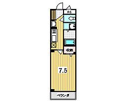 Primero TAKANO (プリメーロタカノ)[1階]の間取り