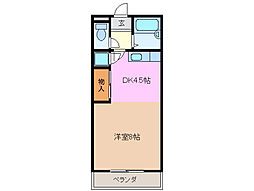 MMハイツNO.1[2階]の間取り