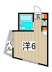 プレステージ浦和[1階]の間取り