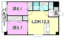 リバーサイドマンション[301 号室号室]の間取り