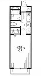 ハイムフロイデ[1階]の間取り