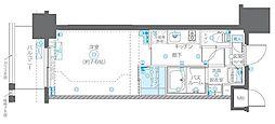 JR総武線 浅草橋駅 徒歩5分の賃貸マンション 5階1Kの間取り
