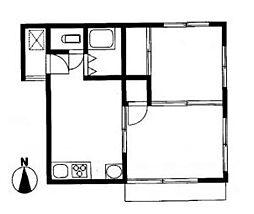 戸部ハイツ[2階]の間取り