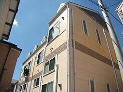 神奈川県川崎市幸区古市場1丁目の賃貸アパートの外観