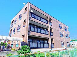 東京都東大和市狭山2丁目の賃貸マンションの外観