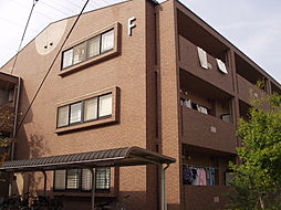 プラザハイツ二ツ屋[1階]の外観