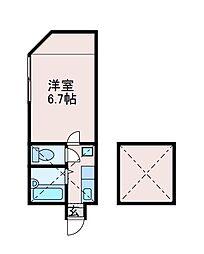 アポロ1号棟[1階]の間取り