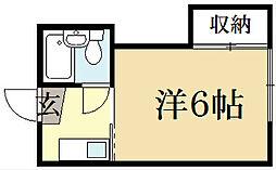 レジデンス奥田[2階]の間取り