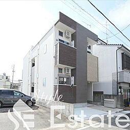 愛知県名古屋市中村区中村本町2丁目の賃貸アパートの外観