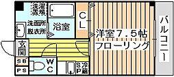 エルカーサ正雀2[2階]の間取り