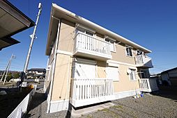 茨城県日立市十王町友部の賃貸アパートの外観