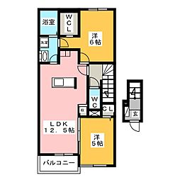 RX−78 A[2階]の間取り