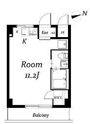 中台ビル[3階]の間取り