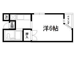 アブニールK[3階]の間取り