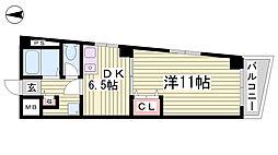 ローレル新神戸[9階]の間取り