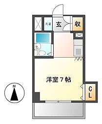 明治第10ビル[5階]の間取り