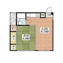 ルーチェ別院[5階]の間取り