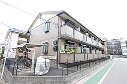 東京都板橋区高島平8丁目の賃貸アパートの外観