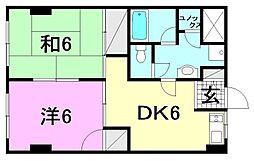 第三森ビル[305 号室号室]の間取り