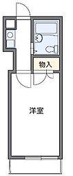 ハーモニーハイツ川崎[2階]の間取り