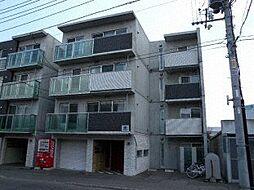北海道札幌市豊平区豊平五条10丁目の賃貸マンションの外観
