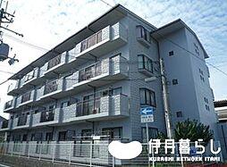 兵庫県伊丹市稲野町3丁目の賃貸マンションの外観