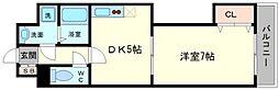 レインボーコートパートⅢ[3階]の間取り