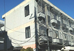 埼玉県狭山市新狭山3丁目の賃貸マンションの外観