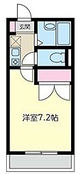 インペリアル湘南I[2階]の間取り